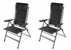 Humour 2 X Kampa Lounge Chair-firenze-afficher Le Titre D'origine