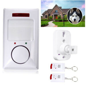 Home-Security-Wireless-Alarm-System-IR-Motion-Sensor-Detector-2-Remote-Control