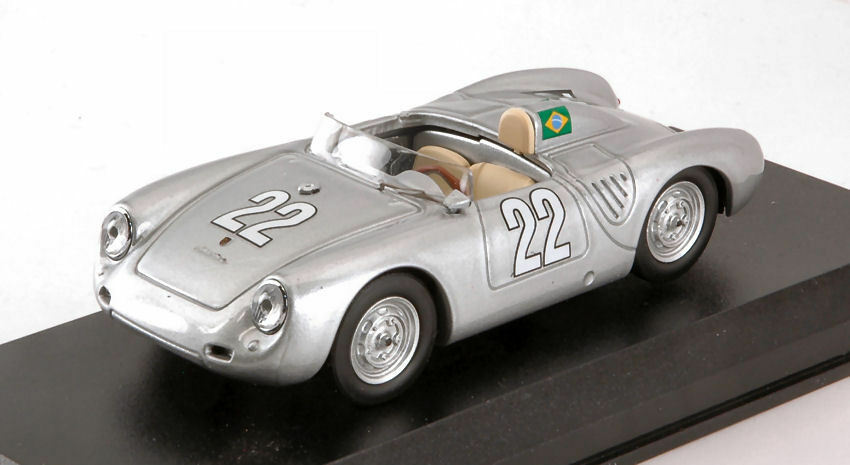 Porsche 550 Rs  22 Winner 10 H Messina 1958 F. Heinz / P.E. Strahle 1:43 Model