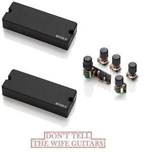 emg 40dcx active 5 string bass soapbar pickup set bqs tone control system 654330402623 ebay. Black Bedroom Furniture Sets. Home Design Ideas