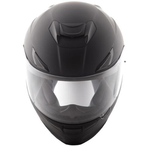 Fly Street 2018 SENTINEL Full-Face Motorcycle Helmet w// Sun Shield Matte Black