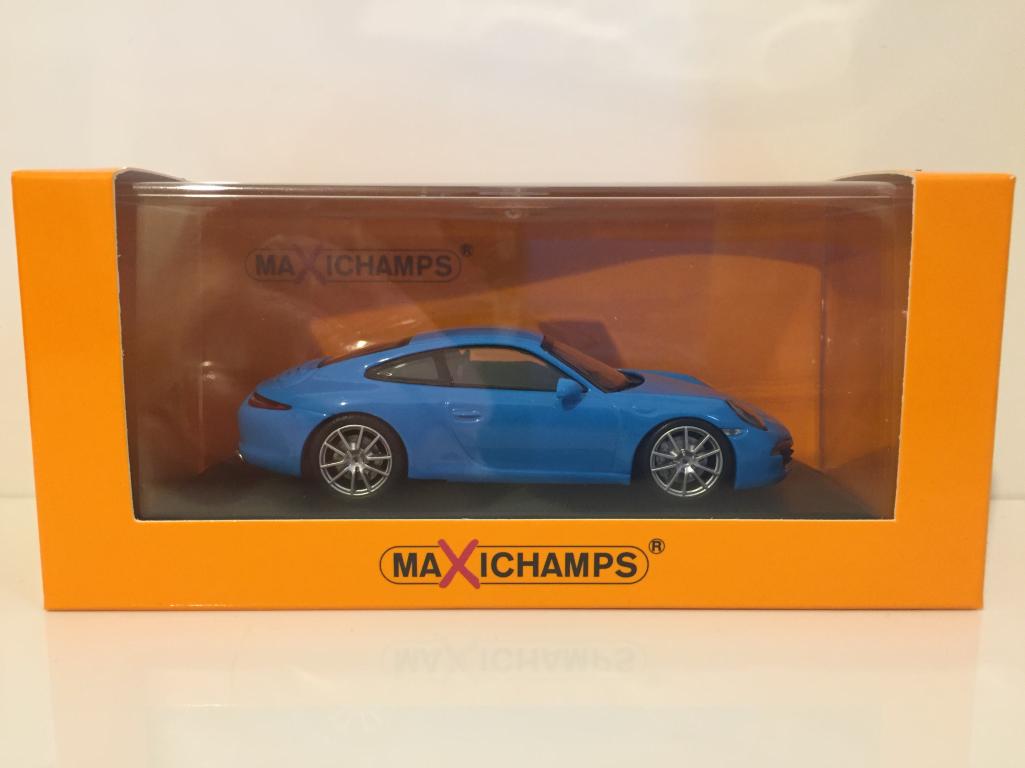 Maxichamps 940060220 Porsche 911 Carrera S S S 2012 bluee OFFER e457bd