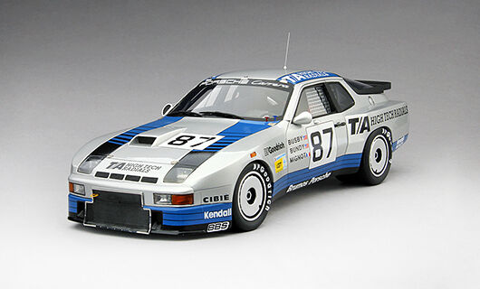 Porsche 935  87 16th (1st inoxidable) Le Mans 1982 J. superproduction D. Bundy 1 18 Model
