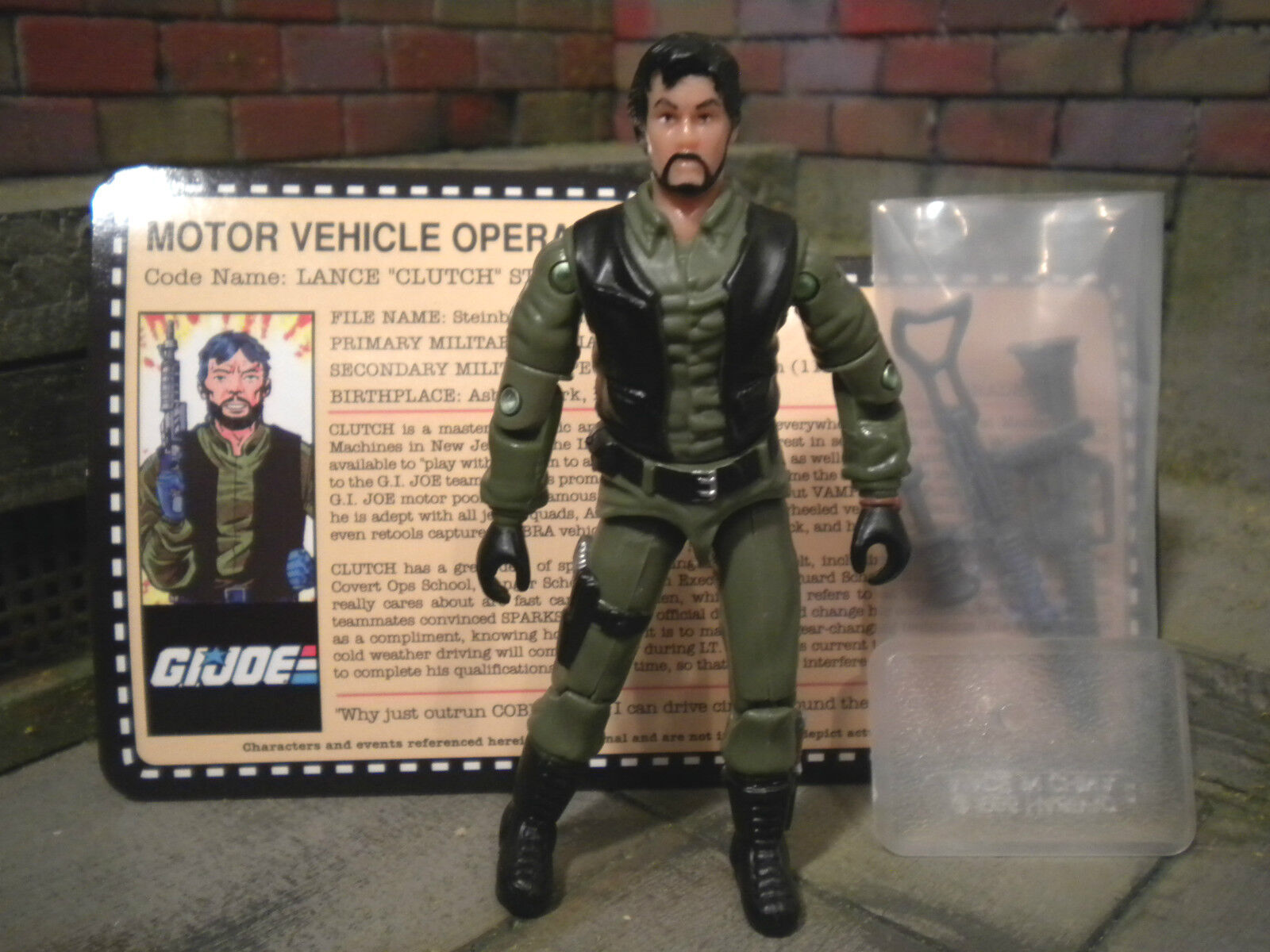 GI JOE  2007 CLUTCH  VAMP DRIVER  JOECON EXCLUSIVE tanks for memories 1982