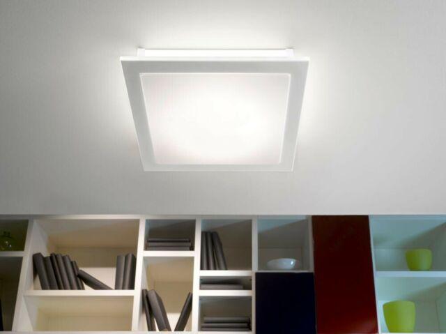 18W LED Decken Leuchte Bad Licht Badzimmer Design Lampe 38,5x38,5 cm EGLO Auriga