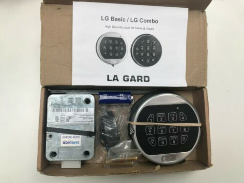 La Gard Combo Basic Dead Bolt Digital lock with 5750 keypad inc Battery