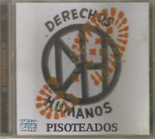 DERECHOS HUMANOS - Pisoteados ( Mexican Hardcore Punk ) Cd Made In Mexico