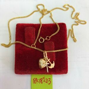 GoldNMore-18K-Gold-Necklace-and-Pendant-18-034-chain