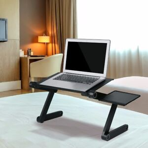 Image Is Loading Adjule Laptop Desk Portable Folding Computer Table Stand