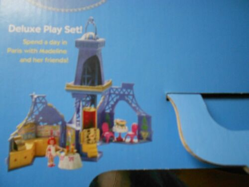 Madeline La Petite Eiffel Tower Playset  and Playmat  2 Items New