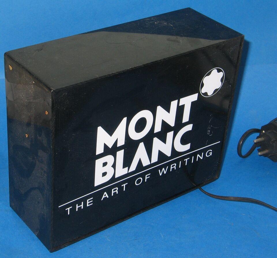 Fyldepen, Mont Blanc Skilt