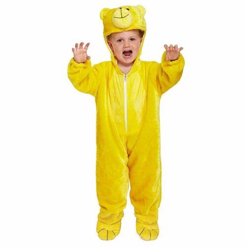 Carino Orso Costume Vestito bambino 2-4 anni bambino per bambini Giallo