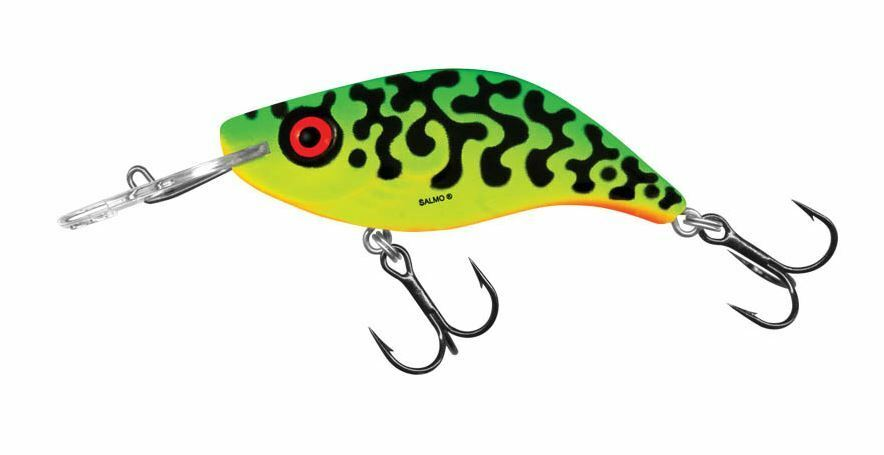 """Salmo Whitefish SW13DR-GT Green Tiger  Deep Runner 5 1//4/"""" 3//4 oz Lure"""