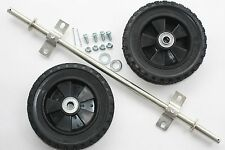 "NEW 8"" WHEELS & AXLE KIT ad wheels to generator, trash pump, dolly, projects.."