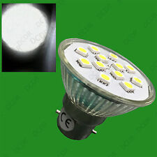 4x 3W BC B22 Epistar SMD 5050 LED Spot Light Bulbs 6500K Daylight White Lamps