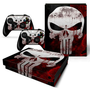 Video Game Accessories The Cheapest Price Punisher Xbox One S 2 Sticker Console Decal Xbox One Controller Vinyl Skin Video Games & Consoles