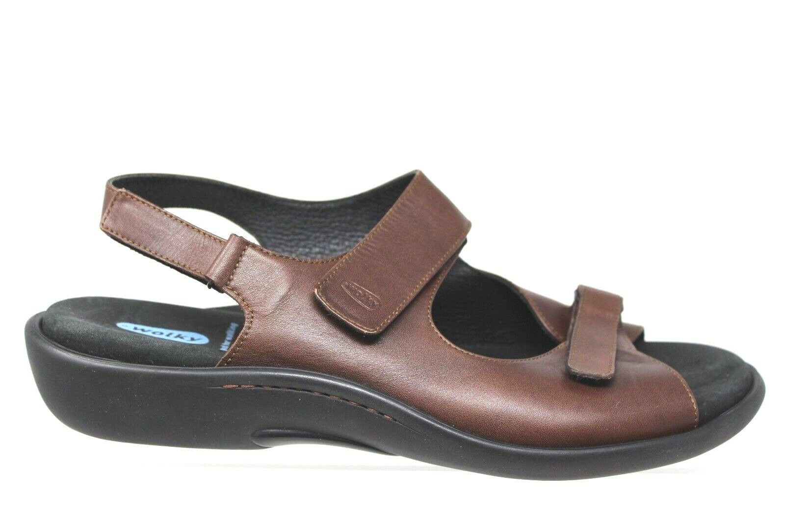Wolky Marronee Leather Walking Sandal scarpe scarpe scarpe Uomo US 9.5 EUR 43 e43693
