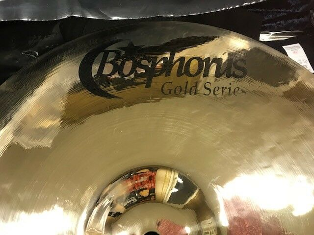 BOSPHORUS 14  Fast Crash gold Series - BRILLIANT FINISH  656 gramm NEU