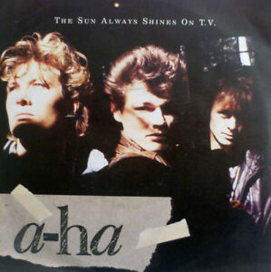 7-034-1985-KULT-IN-MINT-A-HA-The-Sun-Always-Shines-On-TV