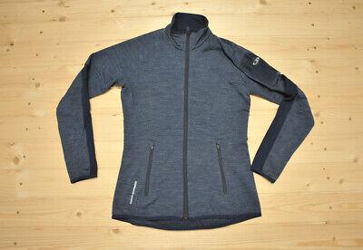Womens Icebreaker Atom Gt Merino Wool Long Sleeve Full Zip Jacket Size S Ebay