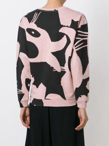/% 100 Authentic WomeN BUNNY print PINK  Sweatshirt