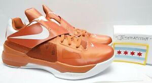 big sale 24f9e b3a26 Image is loading Nike-Zoom-KD-IV-4-Texas-Size-11-