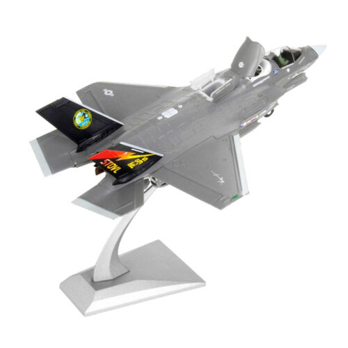 Metal 1//72 Scale F-35B Fighter Aircraft Diecast Model with Display Stand