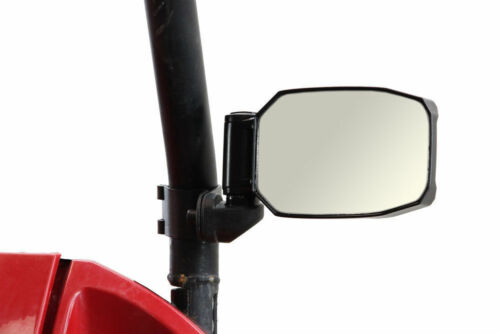 Polaris RZR-S 800 900 1000 RED STRIKE Seizmik Break-Away Side Mirrors 1.75/""