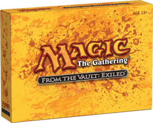 1x From the Vault  Exiled - Factory Sealed - - - MTG Seattle 87c11d