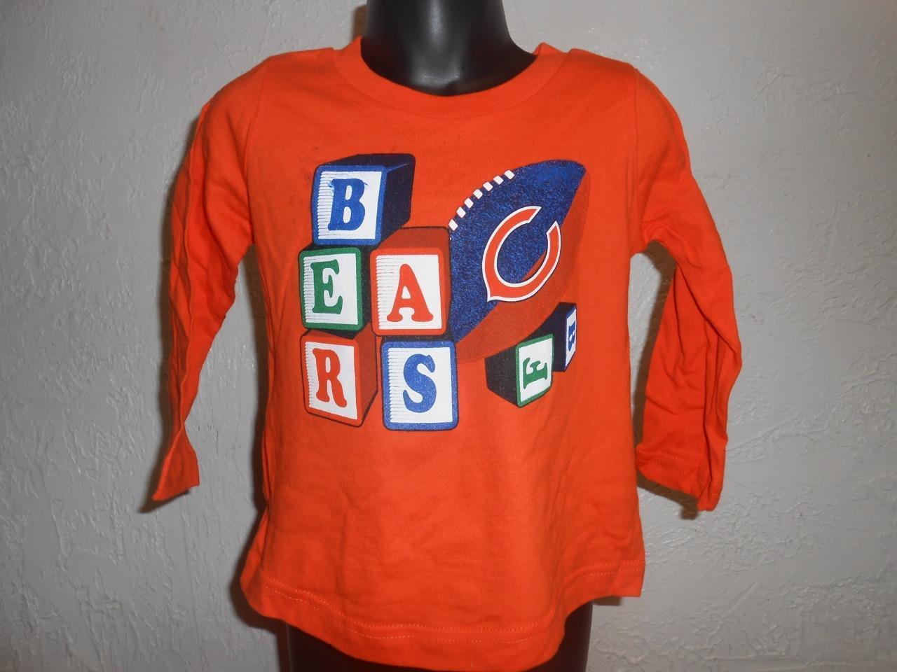 New-Minor Flaw-Chicago Ours Tout-Petit Taille Taille Taille 2T T-Shirt par NFL Équipe Apparel fc8b75