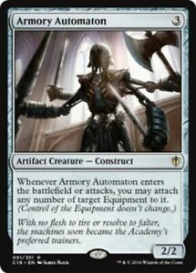 MTG-MAGIC-THE-GATHERING-ARMORY-AUTOMATION-COMMANDER-2016-NEAR-MINT
