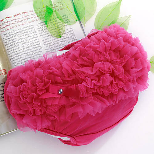 Fuchsia Soft Nappy Diaper Cover Bloomers Panties for Baby Girl 0-2Year