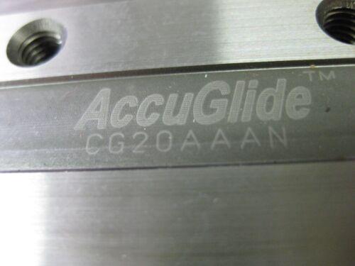 "Thomson AccuGlide GG20AAAN 2 Carriages Blocks 10 7//8/"" Rail 20mm Linear Rails USA"