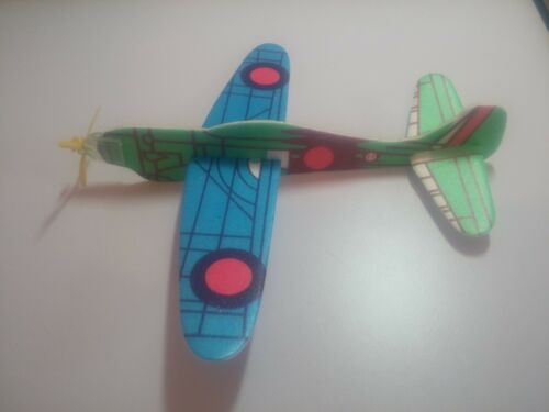 10pc Classic Power Prop Flying Gliders Styrofoam Planes Pinata Toy Kids Party !!