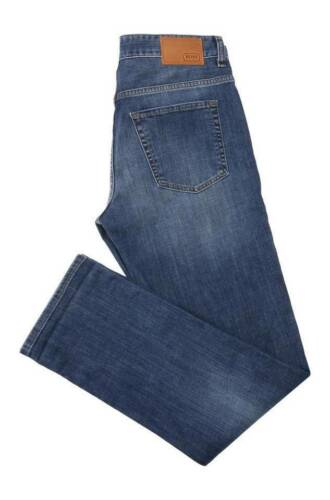Hugo boss Grün Jeans Herren Slim Fit Baumwolle Elastisch C-Delaware1 50331026