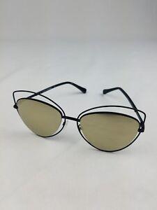 af9c796fc DVF women 57mm Cat Eye sunglasses black frame nose pads case Lens ...