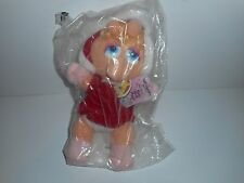 Muppet Baby's Christmas Plush Toys McDonalds Miss Piggy New In Bag 1988