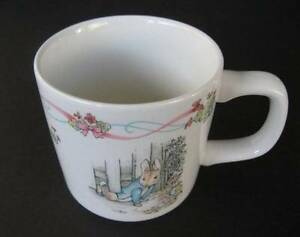 Wedgwood Beatrix Potter's Peter Rabbit Christening Cup Mug Made in England