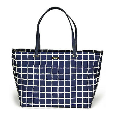 Kate Spade New York Seaside Nylon Francis Baby Bag - French Navy/Cream
