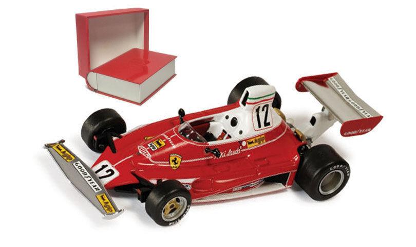 Ixo SF04 75 ferrari 312T monaco gp 1975 world champion-niki lauda échelle 1 43