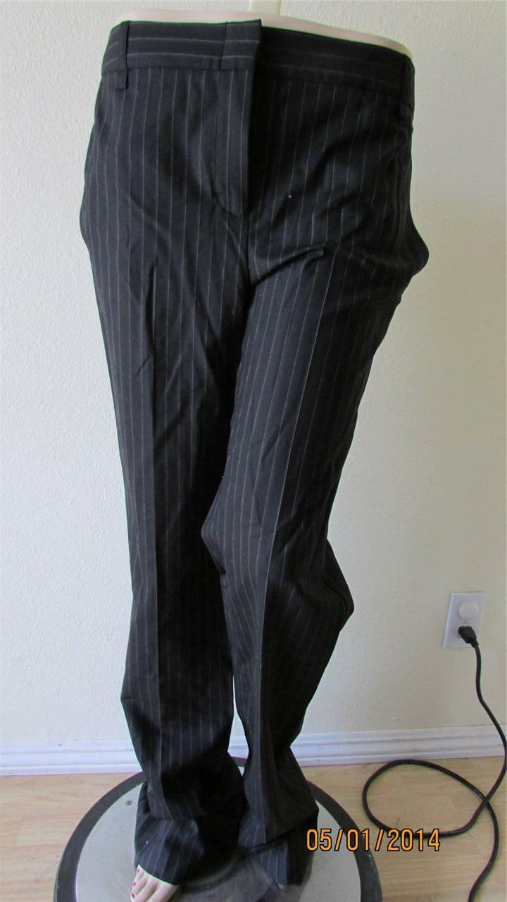 178 NWT BCBG MARIAM THE SKINNY SUITING WOOL PANT TROUSER SIZE 6