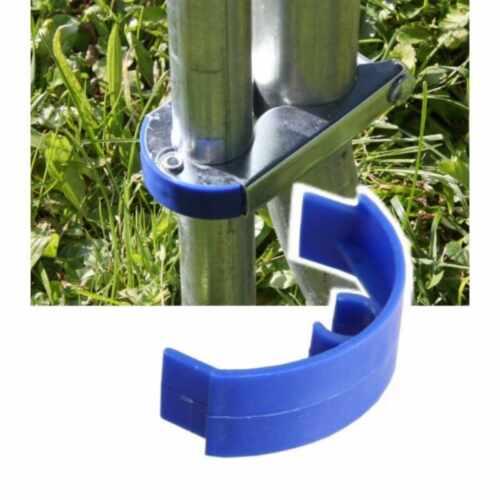 Abdeckung der Sicherungsklammer welche die Netzstangen des Trampolin befestigen