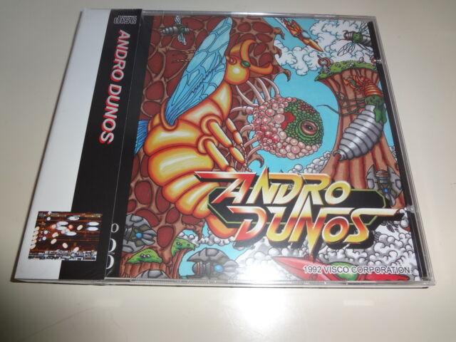 NEW Andro Dunos NCI Neo-Geo CD Japan