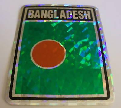 "/""3x4/"" Bangladesh Sticker Decal Bangladesh Flag"