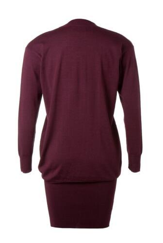 tunica lana extrafino Country Road New merino maglione 100 abito Rrp di 150 qX6HxRP