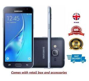 Nuevo Samsung Galaxy J3 SM-J320FN 2016 8GB Desbloqueado Teléfono inteligente Negro 4G LTE 8MP