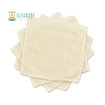1PCS ALVABABY Bamboo Wipes For Baby Cleaning Comfortable Reusable Saliva Towel