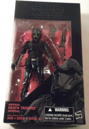 "2016 Star Wars Black 6/"" IMPERIAL DEATH TROOPER #25 Action Figure MOC Mandalorian"