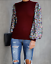Tops-Puff-Long-Sleeve-Casual-Womens-Pullover-Sweater-Sequin-Blouse thumbnail 12