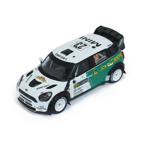 Mini John Cooper Works Wrc #23 Rally Sweden 2013 J.Nikara Whitebox 1:43 WBR015